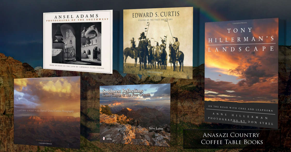 Anasazi Country Coffee Table Photo Book Collection