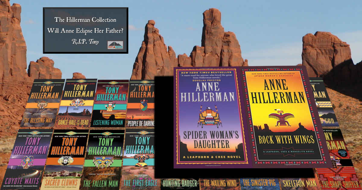 Anne and Tony Hillerman Leaphorn and Chee Navajo Mysteries Paperback Book Collection